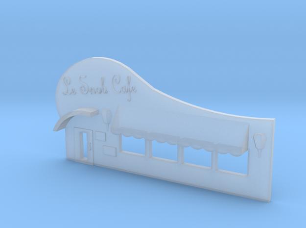 6mm Facade - Cafe 3d printed