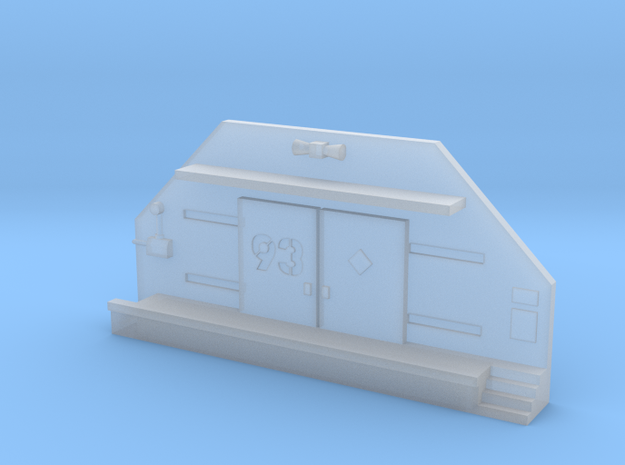 6mm Facade - Ammo Bunker in Smooth Fine Detail Plastic