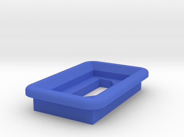 MicroUSB Square Bezel w/ LED hole 3d printed