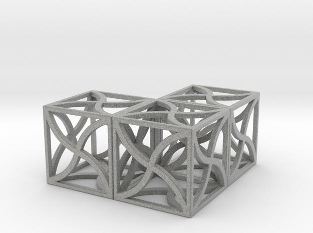 Twirl cubed puzzle part #5 3d printed