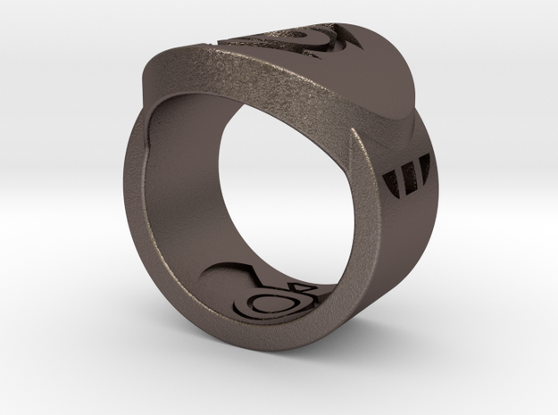 Indigo Tribe FF Ring Sz 6 3d printed