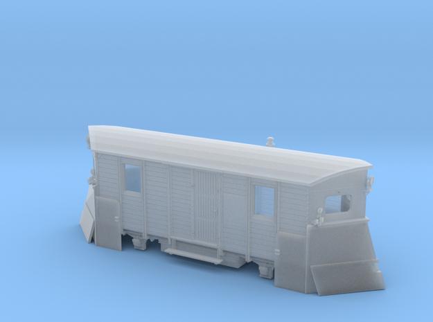Schmalspur-Schneepflug Spur TTm (1:120) 3d printed