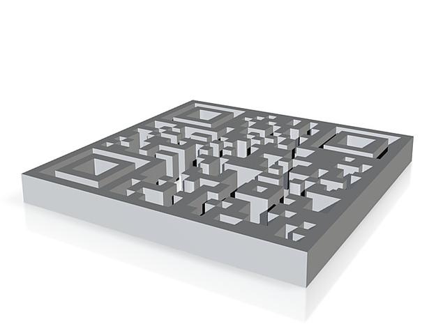 QR no base 3d printed