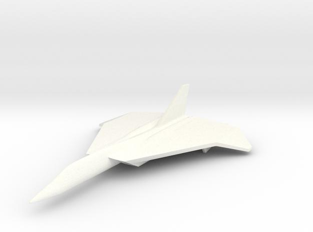 1/285 (6mm) F-108 Rapier 3d printed