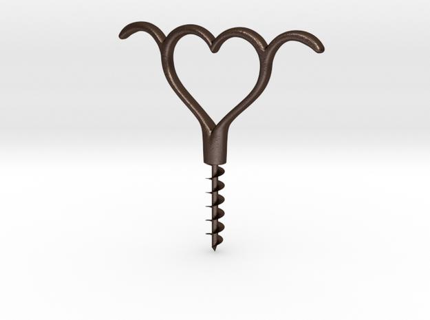 H corkscrew 3d printed