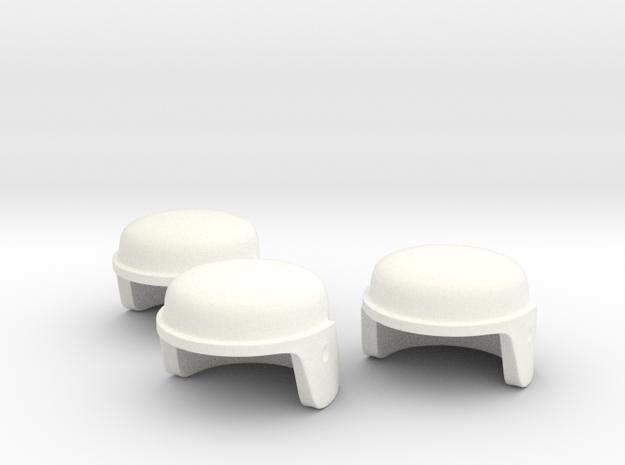 GI Joe Helmet For Minimates Set Of Three 3d printed
