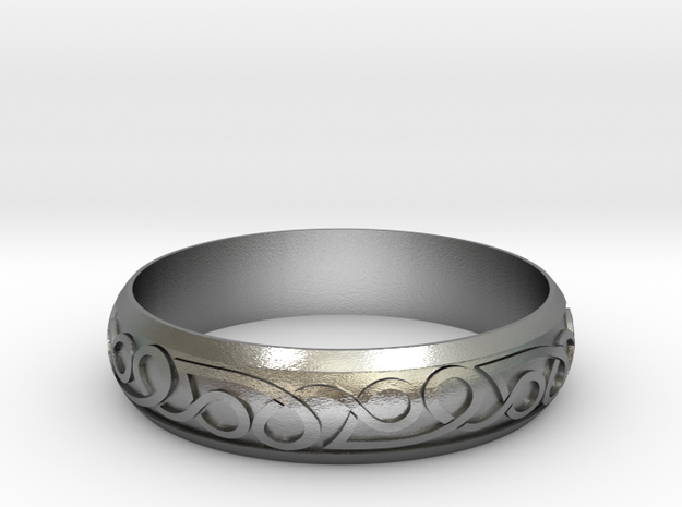 Celtic ring 02 3d printed