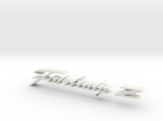 Datsun Fairlady Z Emblem 3d printed