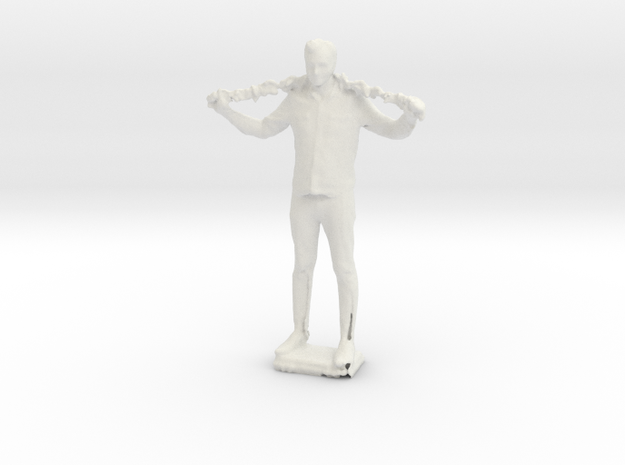 Duann Boa in White Natural Versatile Plastic