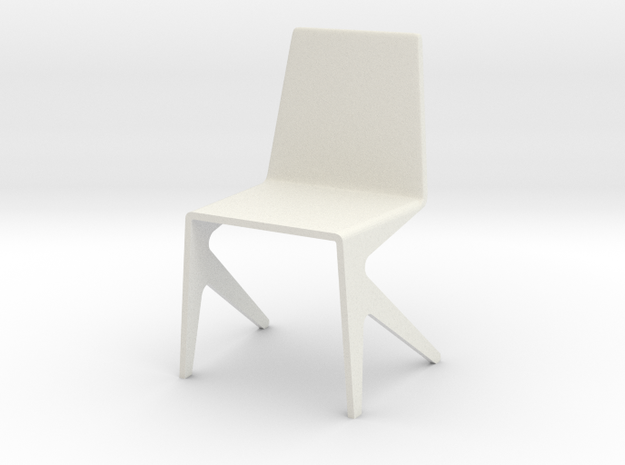 1:24 mosqitchair1 in White Natural Versatile Plastic