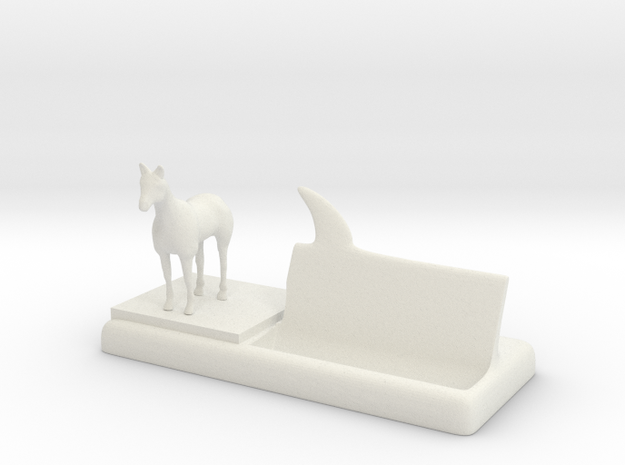 horse business card holder 3d printed
