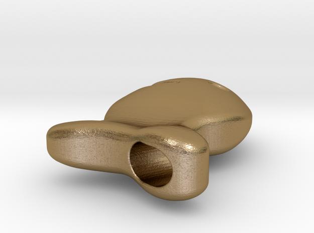 Goldfish Pendant  3d printed