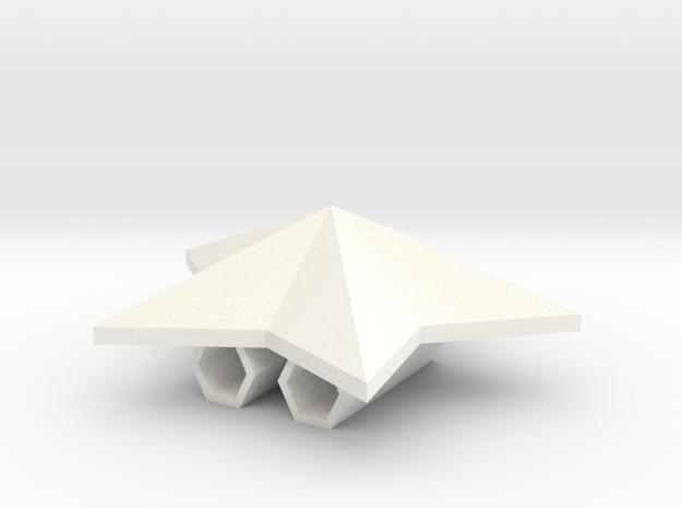 bead bolo in White Processed Versatile Plastic