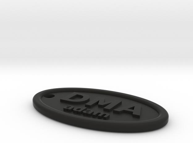DMA adam fob 3d printed