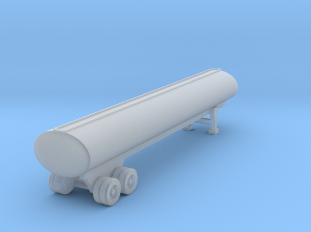 40 Foot Tank Trailer - 1:144 scale in Frosted Ultra Detail