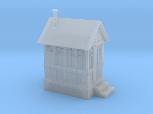 CPR John Street Gatehouse (Vintage) - N (1:160) Sc in Smooth Fine Detail Plastic