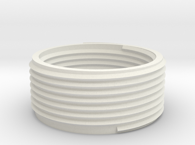 Adapter ring for Starfish lamp 20mm height E27 in White Natural Versatile Plastic