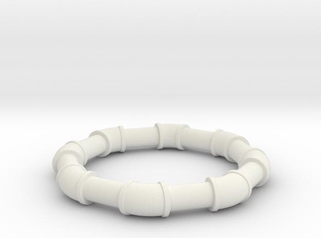 1 5 ell 45 in White Natural Versatile Plastic