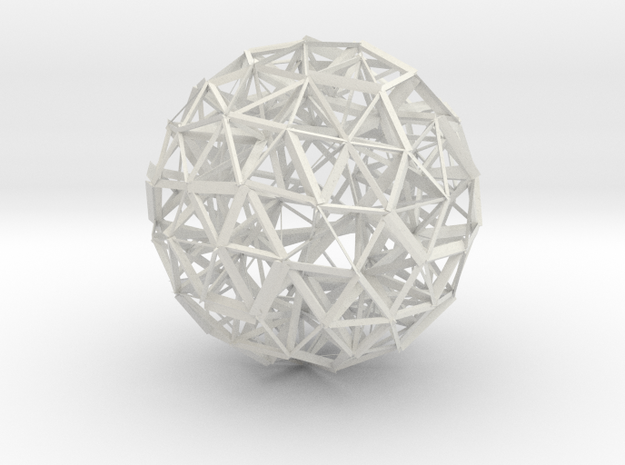 Sphere Optimized Using Natural Selection in White Strong & Flexible