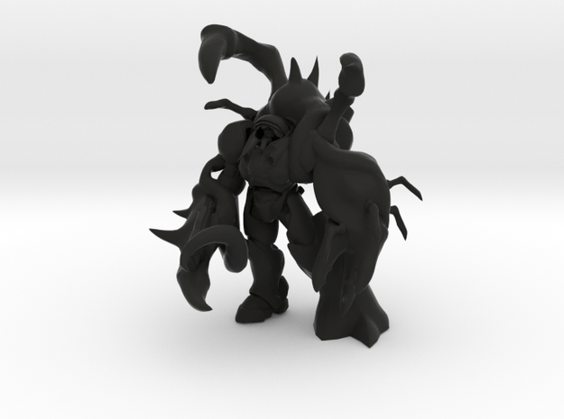 Infested Terran 3d printed