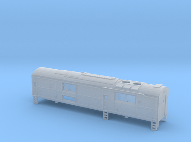 N scale CNJ Baby Faced Baldwin B Unit in Frosted Ultra Detail