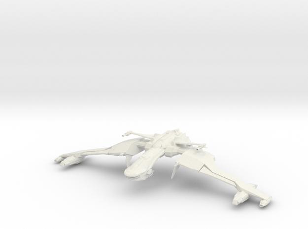 Akh Honn Class Battleship BIG in White Strong & Flexible