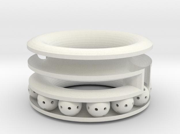 2 tier bracelet 3d printed