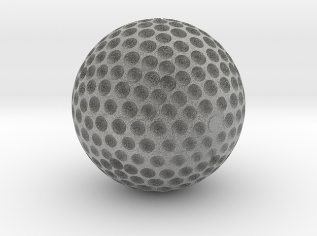 GOLDEN GOLF BALL TROPHY 3d printed Perfect for any golfing enthusiast