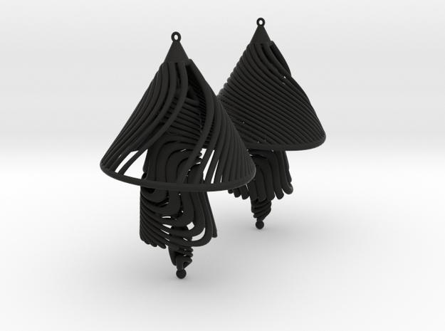 Earing Organic 03 3d printed