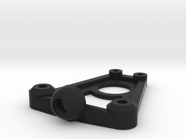 Mini-z Tri-damper Shock Mount v5 in Black Natural Versatile Plastic