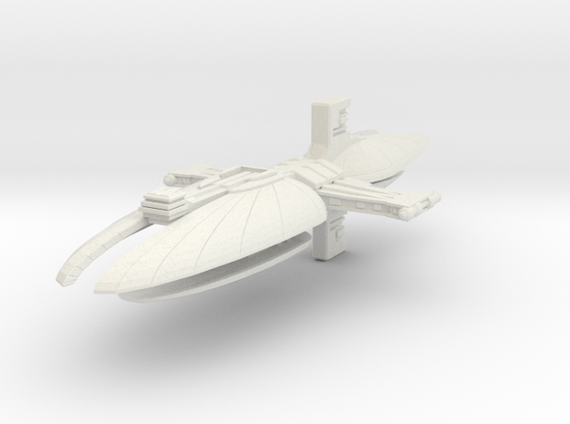 Munificent class frigate in White Natural Versatile Plastic