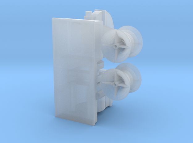 Titanic Electric Cargo Winch 3d printed