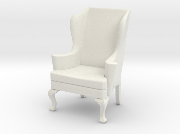 1:24 Wing Chair 2 3d printed
