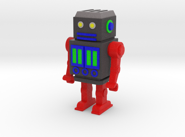 robot 50 color 3d printed