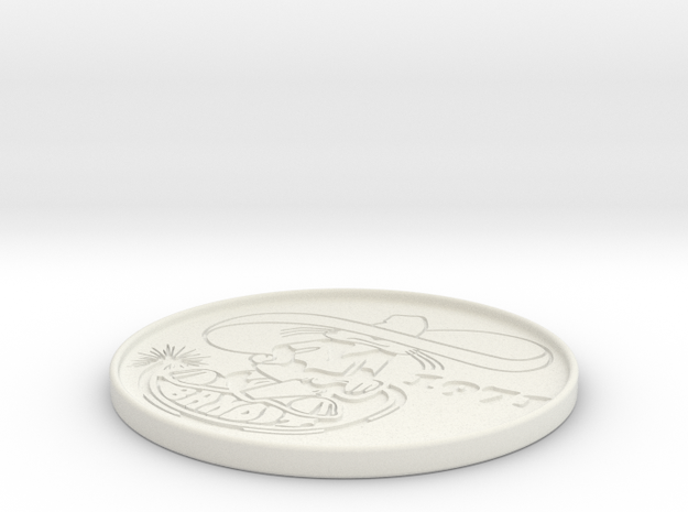 Banditbadge in White Strong & Flexible