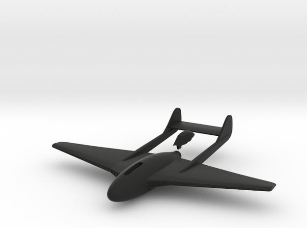Aircraft-  DH 100 Vampire Mk III (1/144th) 3d printed