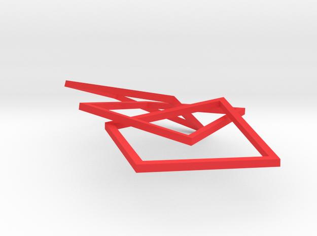 Interlocking Square Bracelet (kids version) 3d printed