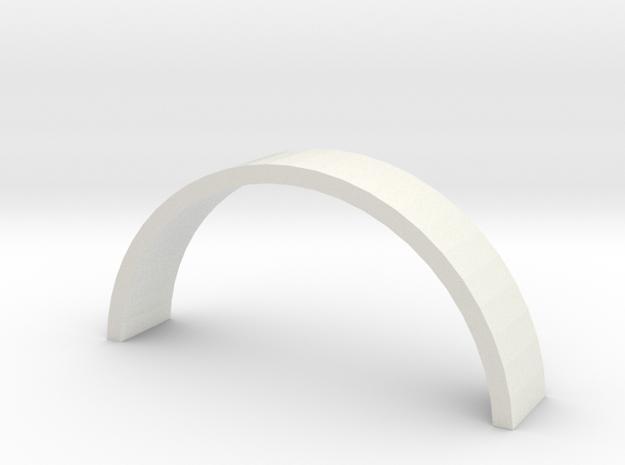 Aeronca Just Brace Large in White Natural Versatile Plastic