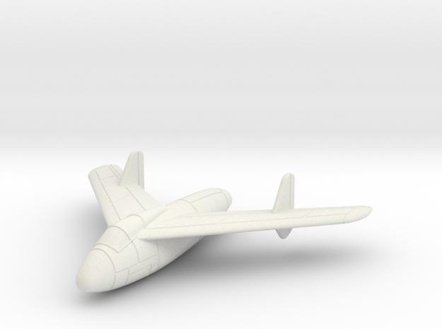 1/144 Junkers EF 128 (closed wheels) 3d printed