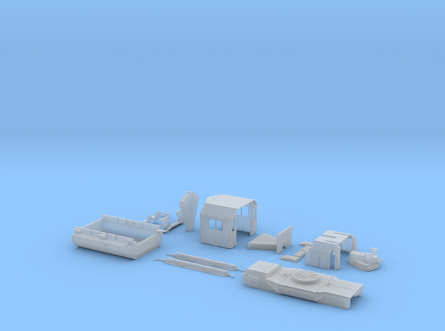 GP38 2 Components Only S Scale 3d printed
