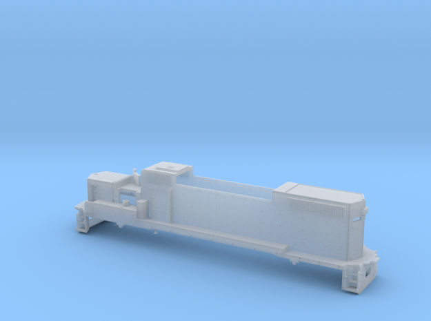 GP38 2 Locomotive Body Only Z Scale 3d printed