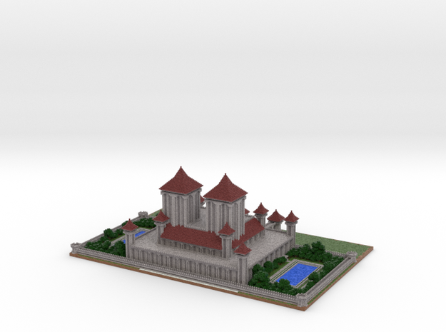 Royal Palace by Zyph revision #1 3d printed
