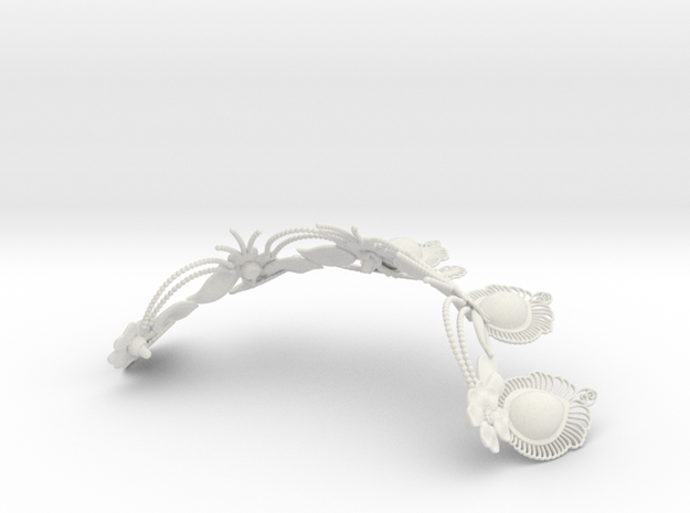 tiara in White Natural Versatile Plastic