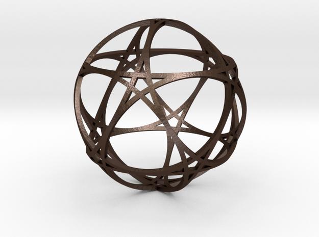 Pentragram Dodecahedron 1 (narrowest) 3d printed
