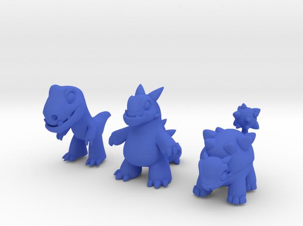 Miniature Dinos 3d printed