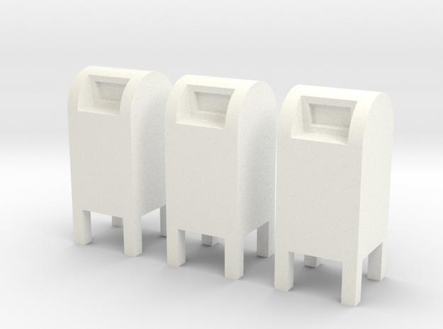 US104 - Public Mailbox set (H0)(price reduction) 3d printed