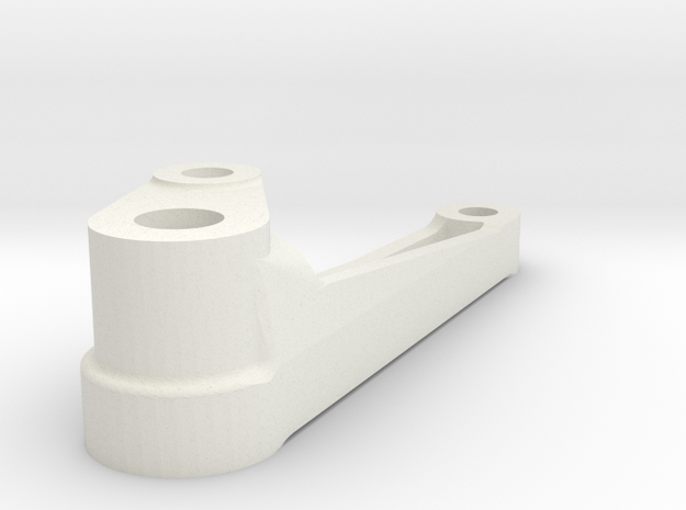 Brake Hanger 3L in White Natural Versatile Plastic