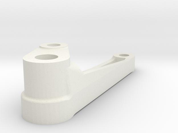Brake Hanger 3L in White Natural Versatile Plastic