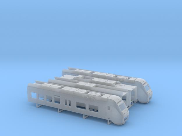 Sprinter Lighttrain  (1:160) in Smooth Fine Detail Plastic