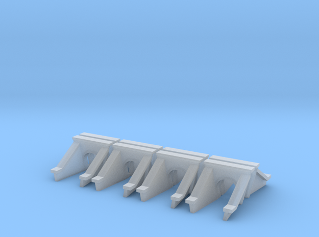 3 Foot Concrete Culvert HO Scale X 8 in Smooth Fine Detail Plastic